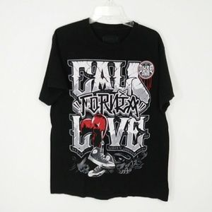 Dyse One California Love black tee size large